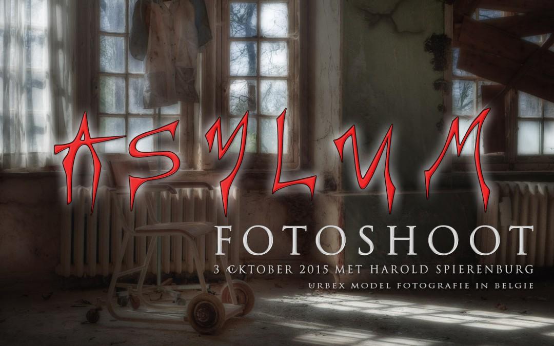 Asylum – Salve Mater – Urbex fotoshoot