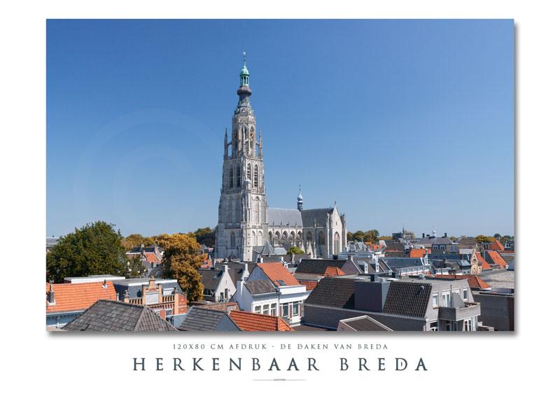 De daken van Breda