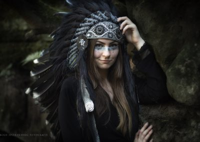Elfia - Model Syfrah Ossenblok - Photo Harold Spierenburg