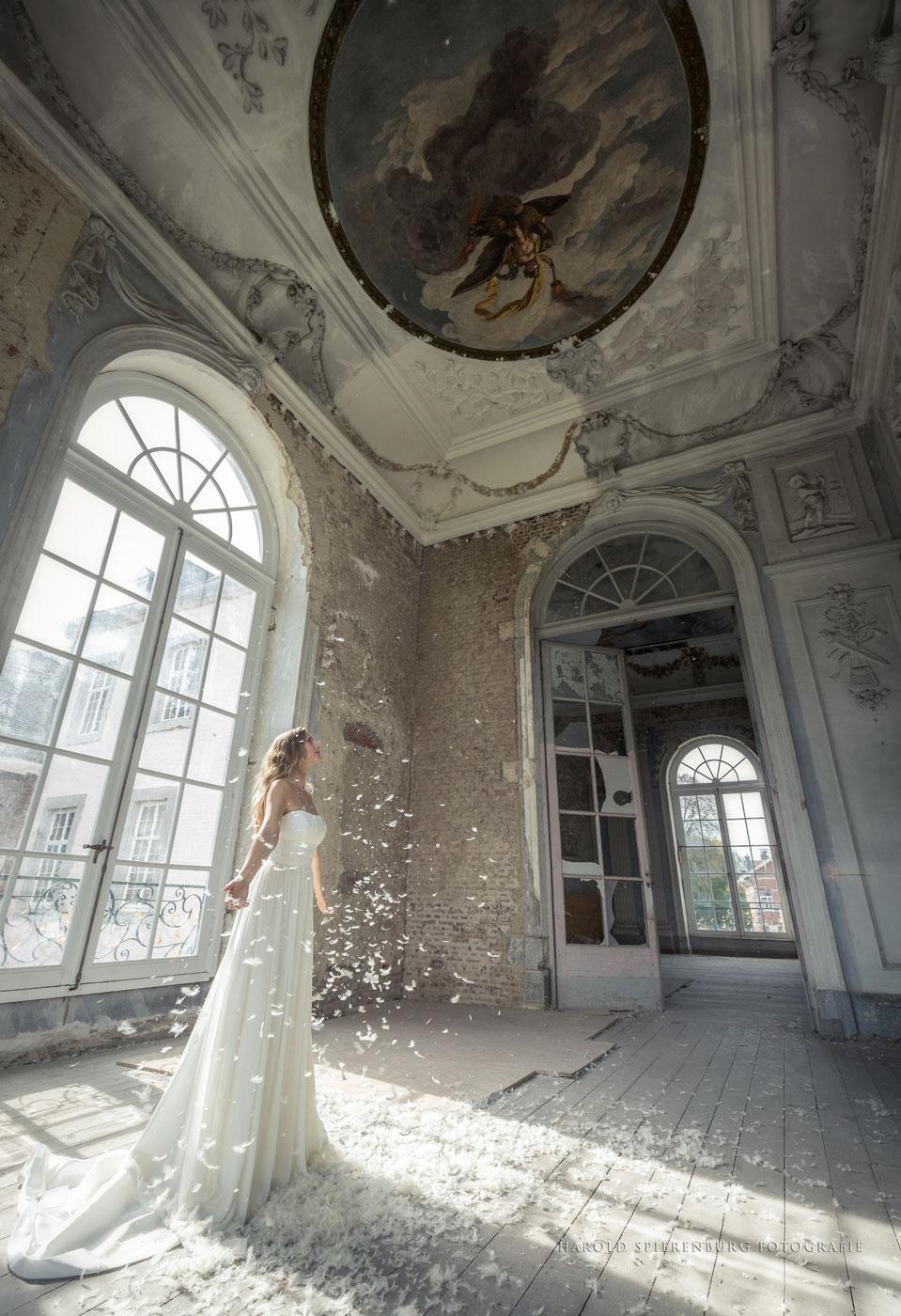 """Fotoshoot op uitnodiging van fototijdschrift """"de Zoom"""" in Schloss Gluck"""